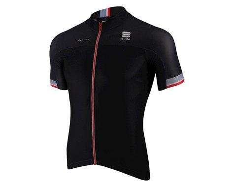Sportful BodyFit Pro Race Short Sleeve Jersey (Black/Red)