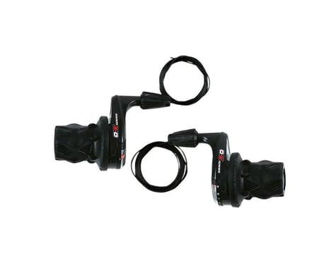 SRAM X0 Twist Shifters (Black) (Pair) (3 x 9 Speed)