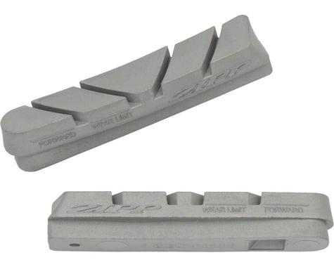 Zipp Tangente Platinum Pro Evo Brake Pad Inserts (Grey) (1 Pair) (Campagnolo Holder)