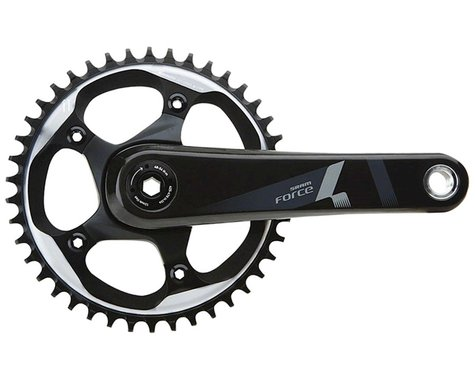 SRAM Force 1 Crankset - 170mm, 10/11-Speed, 42t, 110 BCD, GXP Spindle Interface,