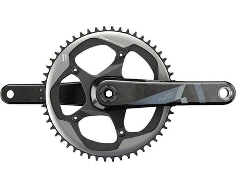 SRAM Force 1 Crankset (Black) (1 x 11 Speed) (BB30 Spindle) (172.5mm) (52T)
