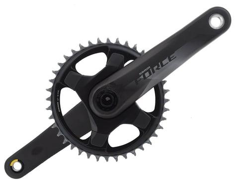 SRAM Force 1 AXS Crankset (Black) (1 x 12 Speed) (DUB Spindle) (175mm) (40T)