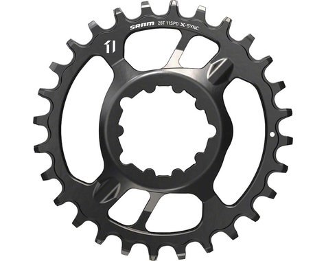 SRAM X-Sync Steel Direct Mount Chainring (Black) (3mm Offset (Boost)) (32T)