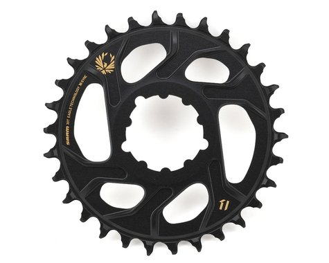 SRAM X-Sync 2 Eagle Direct Mount Chainring (Black/Gold) (Boost) (3mm Offset (Boost)) (30T)