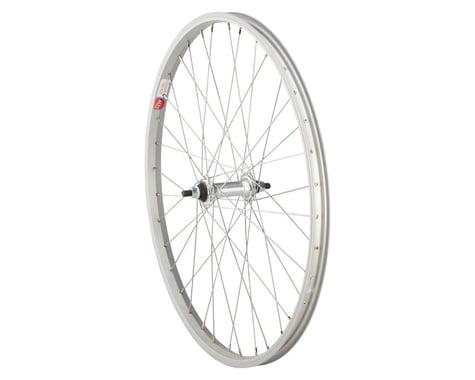 "Sta-Tru Bolt On Front Wheel (Silver) (3/8"" x 100mm) (24"" / 507 ISO)"