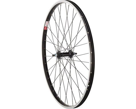 "Sta-Tru Bolt On Front Wheel (Black) (3/8"" x 100mm) (26"" / 559 ISO)"