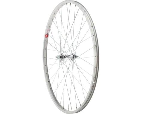 "Sta-Tru 590 ETRTO Bolt On Front Wheel (Silver) (3/8"" x 100mm) (26"" / 590 ISO)"