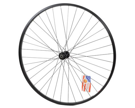 Sta-Tru ST735 Front Alloy Road Wheel (Black) (QR x 100mm) (700c / 622 ISO)