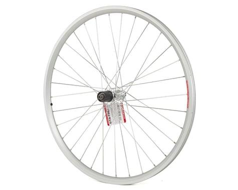 "Sta-Tru Quick Release Double Wall Rear Wheel (Silver) (Shimano/SRAM) (QR x 135mm) (26"" / 559 ISO)"