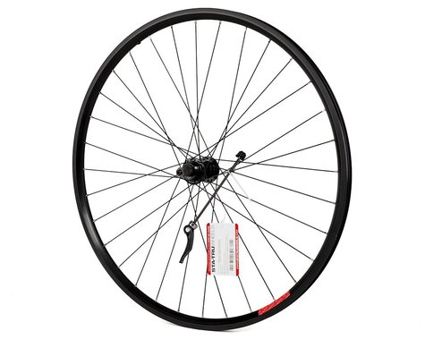 Sta-Tru Quick Release Single Wall Rear Wheel (Black) (Freewheel) (QR x 135mm) (700c / 622 ISO)