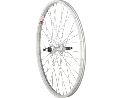 """Sta-Tru Bolt On Double Wall Rear Wheel (Silver) (Freewheel) (3/8"""" x 135mm) (24"""" / 507 ISO)"""