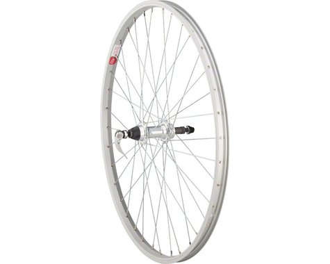"Sta-Tru Single Wall Rear Wheel (Silver) (Freewheel) (QR x 135mm) (26"" / 559 ISO)"