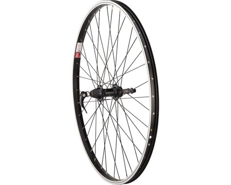 """Sta-Tru Quick Release Single Wall Rear Wheel (Black) (Freewheel) (QR x 135mm) (26"""" / 559 ISO)"""