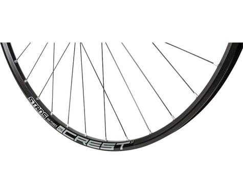 "Stans Crest S1 Front Wheel (Black) (QR x 100mm) (27.5"" / 584 ISO)"