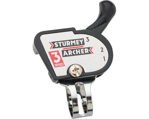 Sturmey Archer S3s Classic Trigger Shifter (Black) (Right) (3 Speed)