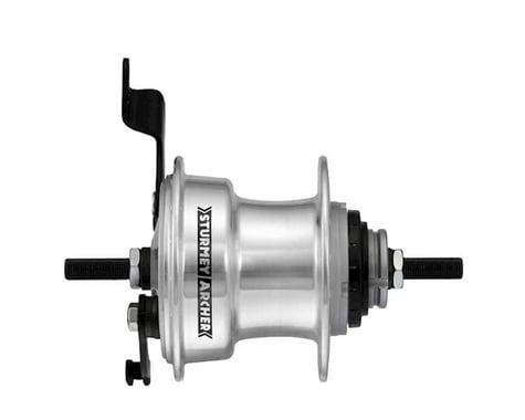 Sturmey Archer RX-RD3 Hub (Silver) (36H) (3 Speed) (70mm Drum Brake)