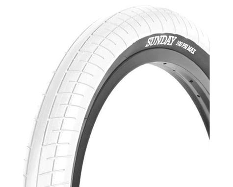 Sunday Street Sweeper Tire (Jake Seeley) (White/Black)