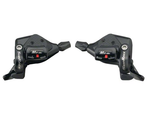 Sunrace M53 Trigger Shifters (Black) (Pair) (3 x 8 Speed)