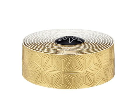 Supacaz Bling Bar Tape w/ Silicone Gel (Gold w/ Gold Plugs)
