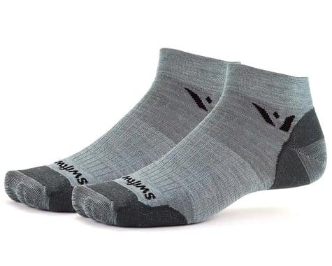 Swiftwick Pursuit One Ultralight Socks (Heather Grey) (L)