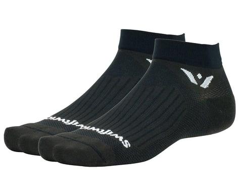 Swiftwick Aspire One Socks (Black) (XL)