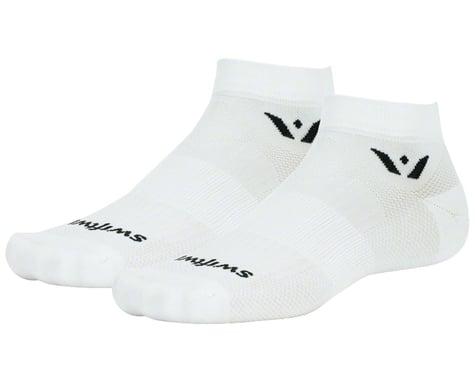 Swiftwick Aspire One Socks (White) (XL)