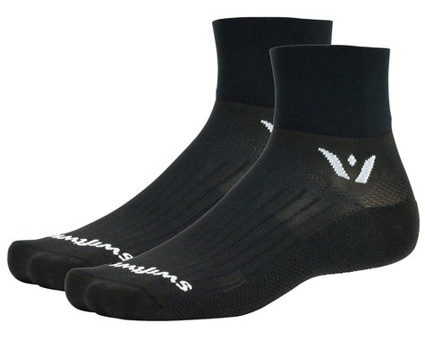 Swiftwick Aspire Two Socks (Black) (M)