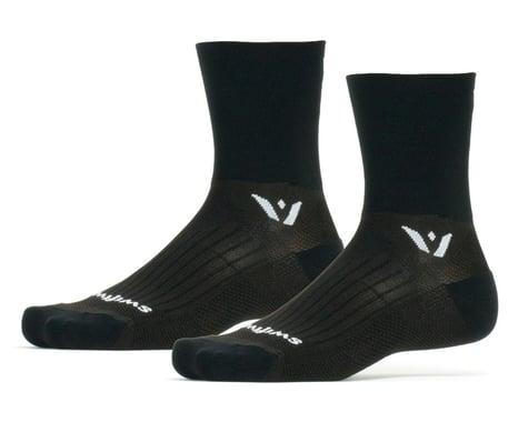 Swiftwick Performance Four Socks (Black) (S)