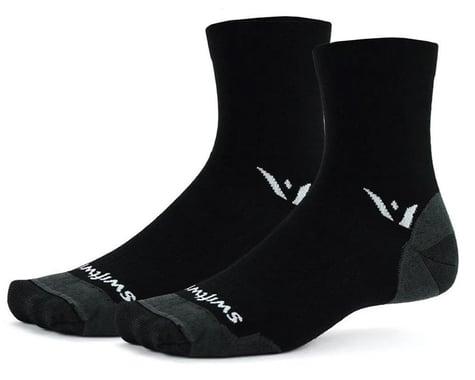 Swiftwick Pursuit Four Ultralight Socks (Black) (S)