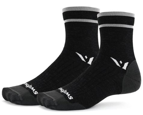 Swiftwick Pursuit Four Ultralight Socks (Coal Grey)