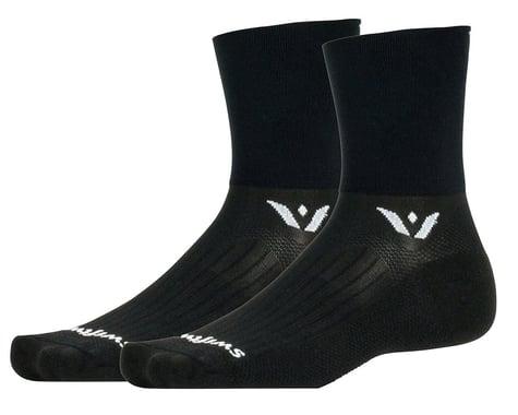 Swiftwick Aspire Four Socks (Black) (S)