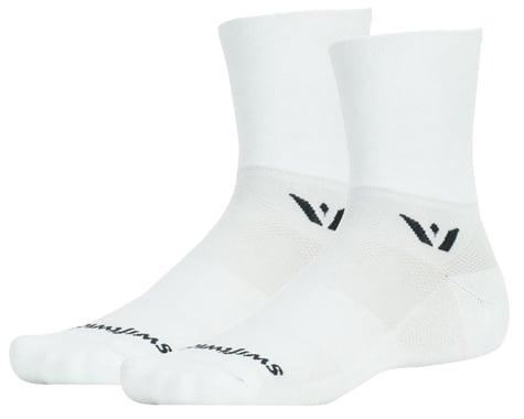 Swiftwick Aspire Four Socks (White) (XL)