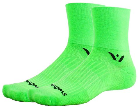 Swiftwick Aspire Four Socks (Lime) (S)