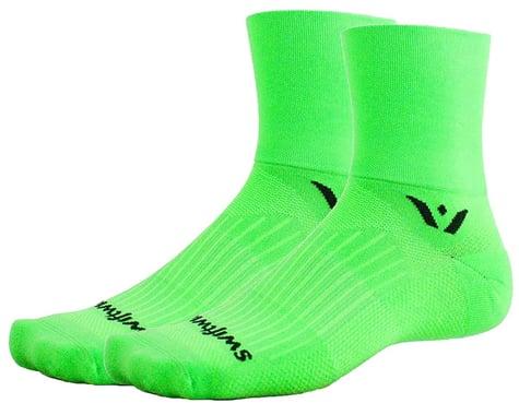 Swiftwick Aspire Four Socks (Lime) (XL)