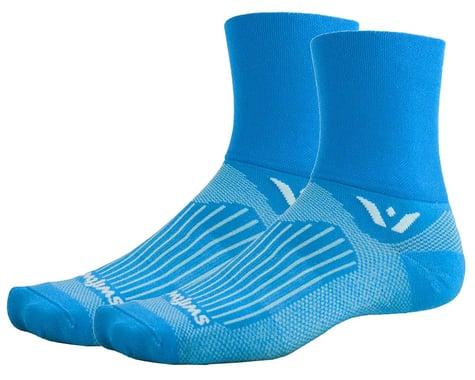 Swiftwick Aspire Four Socks (Lagoon Blue) (M)