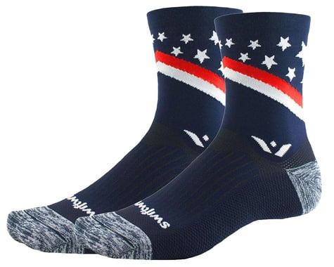 Swiftwick Vision Five Tribute Socks (USA Proud) (S)