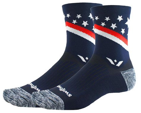 Swiftwick Vision Five Tribute Socks (USA Proud) (XL)