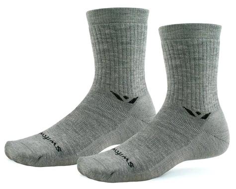 Swiftwick Pursuit Hike Six Lightweight Socks (Heather) (S)