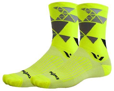 Swiftwick Vision Six Geometric Socks (Yellow) (S)