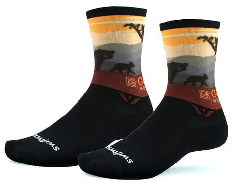 Swiftwick Vision Six Socks (Great Smoky Mountains Bears) (S)