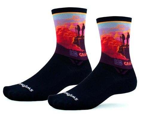 Swiftwick Vision Six Socks (Canyon Lookout) (S)