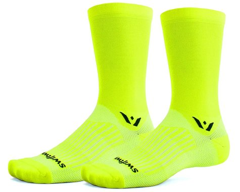 Swiftwick Aspire Seven Socks (Hi-Viz Yellow) (L)