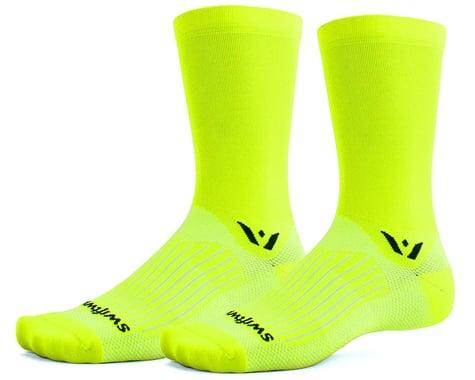 Swiftwick Aspire Seven Socks (Hi-Viz Yellow) (S)