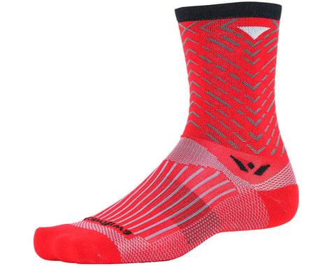 Swiftwick Vision Seven Tread Sock (Red)