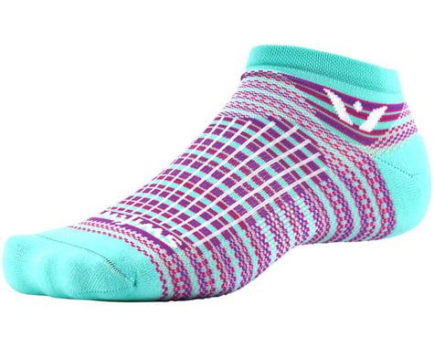 Swiftwick Aspire Stripe Zero Socks (Mint/Pink)