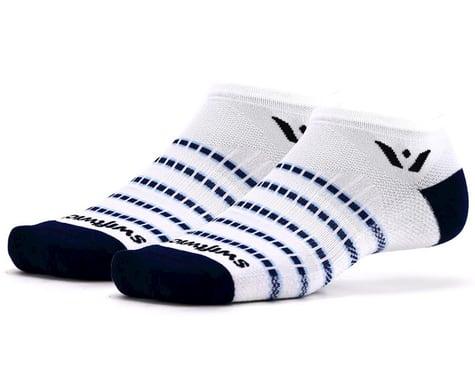 Swiftwick Aspire Zero Socks (White/Navy) (XL)