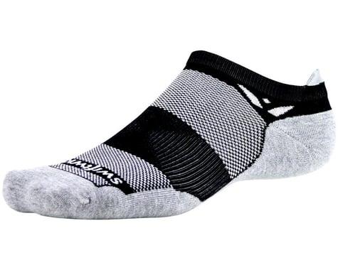Swiftwick Maxus Zero Tab Socks (Black) (S)