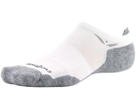 Swiftwick Maxus Zero Tab Socks (White) (S)