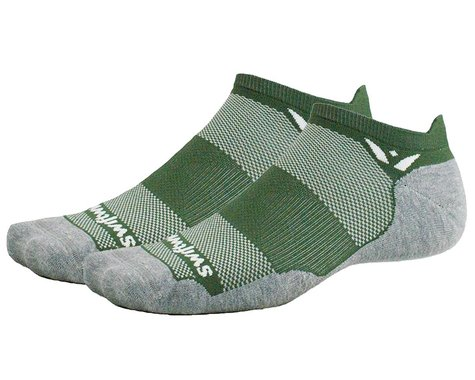 Swiftwick Maxus Zero Tab Socks (Olive) (S)