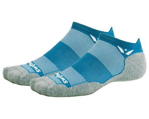 Swiftwick Maxus Zero Tab Socks (Ocean) (S)